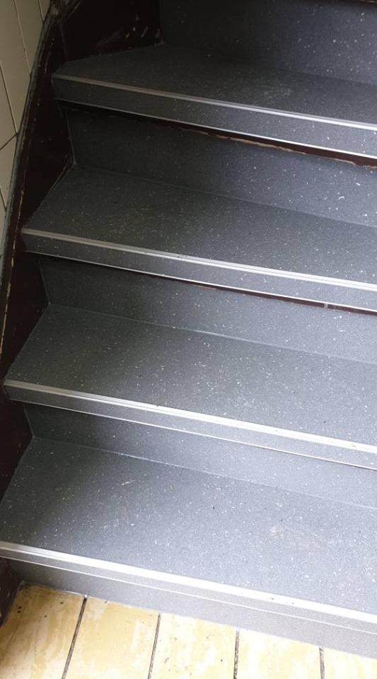 Weer veilig de trap op