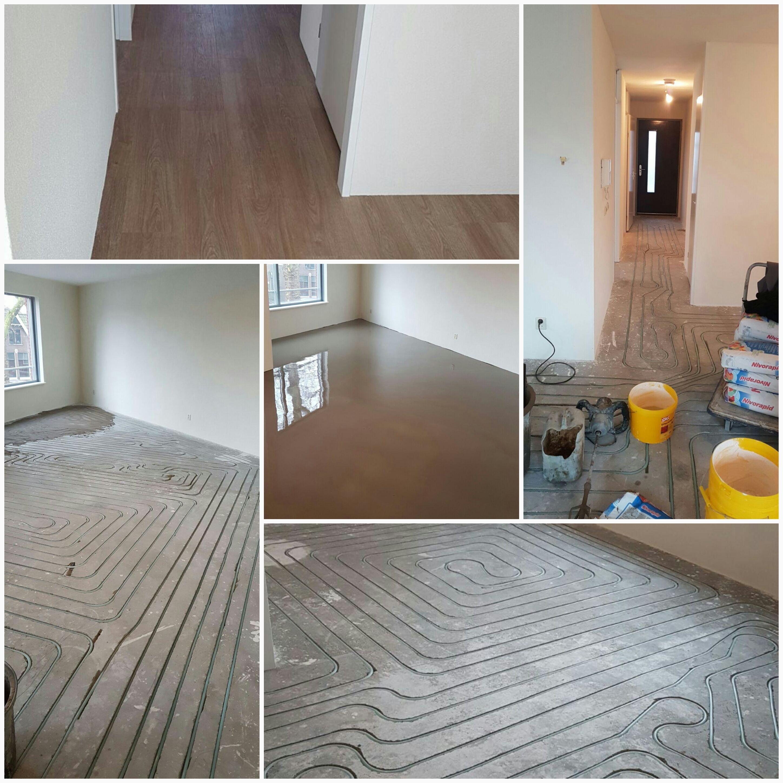 Vloerverwarming met PVC vloer