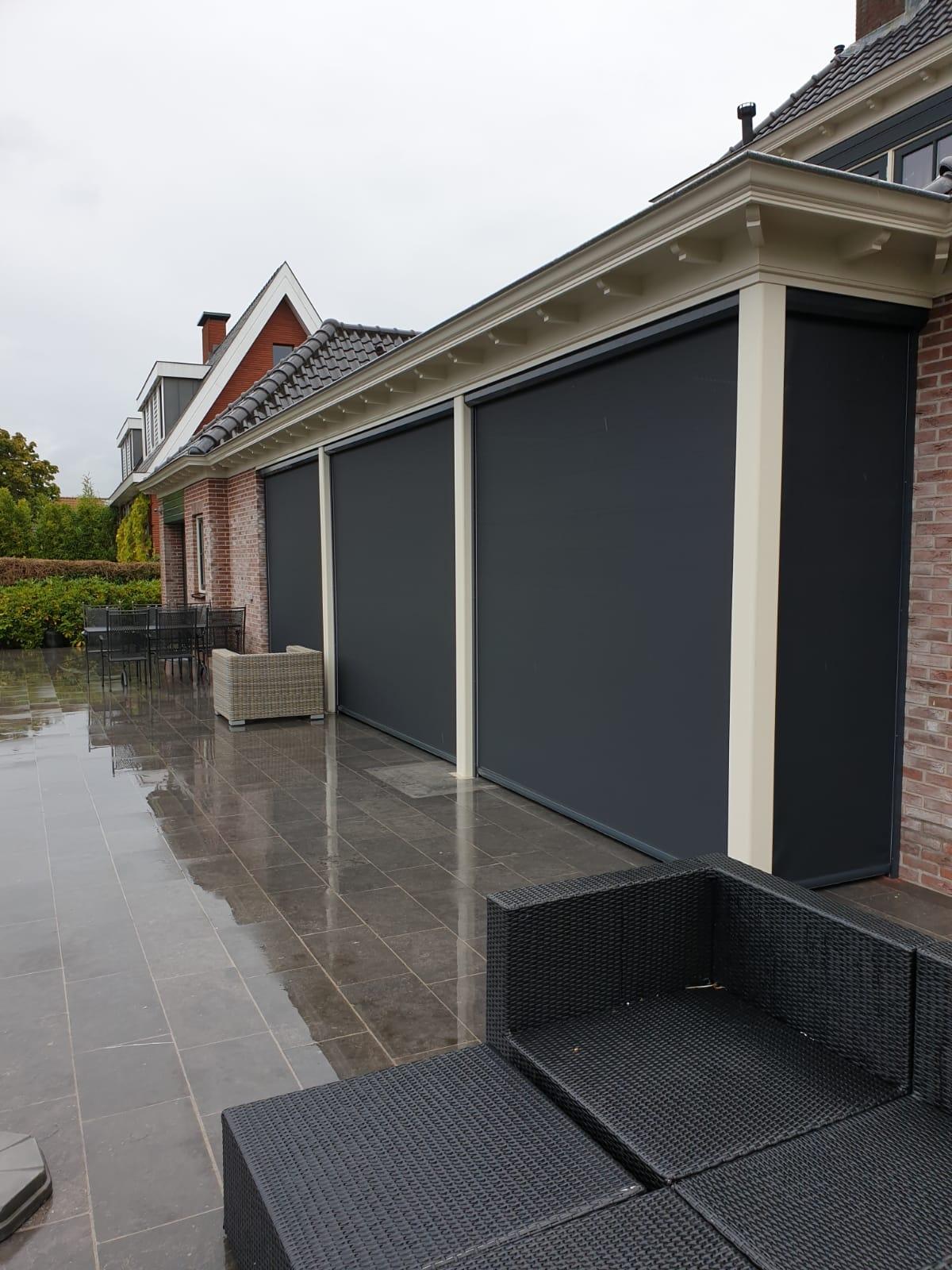 Veranda voorzien van Verano Screens
