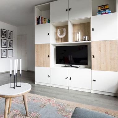 Draaideurkast tv-meubel